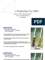 Cathodic Protection for MSV
