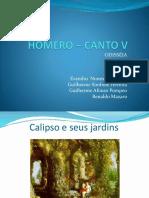 Homero – Canto v Slide
