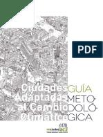 [2013].OMAU Ciudades AdaptadasCambioClimático