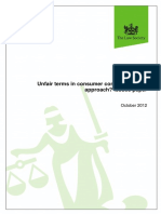 Unfair Consumer Contract Terms Lsresponse