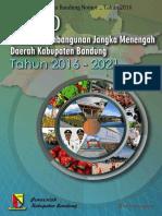 RPJMD Kab Bandung Tahun 2016-2021