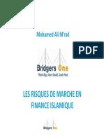 Les Risques de Marche en Finance Islamique Mohamed Ali Mrad