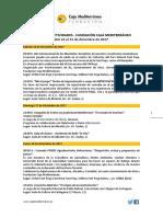 Fundación Caja Mediterráneo. Agenda de Actividades Destacadas. Del 16 al 31 de diciembre de 2017