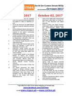 Day by Day Current Affairs October 2017 - www.csstimes.pk.pdf