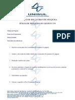 Modelo Relatorio Trimestral Artigo 170