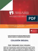 Colusión Desleal Fernando Ugaz