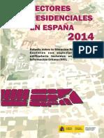 [2015].Sectores ResidencialesEspaña.[2014]