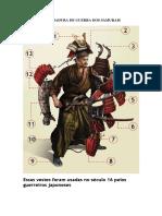 Conheça a Armadura de Guerra Dos Samurais