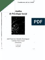 Estudios de psicología social Capítulo 15