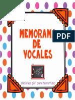 Memorama de Vocales