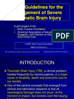Guidelines for the Management Of brain injury