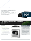 Datasheet Flatpack2 110-125V Rectifiers (DS - 24111x.805.DS3 - 1 - 2) Portugues