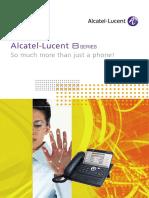 Alcatel Lucent 8 Series Brochure