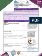 Leson Plan Format- Present Perfect Progressive & Past Perfect Progressive