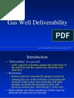 Ch 1 Gas Deliverability Lecture