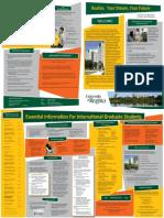 New Student International Brochure