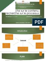 5 - recherche sur le contenu et recherche sur le processus.pptx