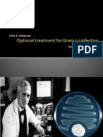 Optional Treatment for Gram – Infection