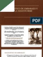 DIAGNOSTICO DE EMBARAZO Y MOLA HIDATIFORME.pptx