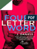 J. Daniels - (Dirty Deeds #1) - Four Letter Word.pdf