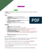 Gramática - Ejercicios de Subordinación