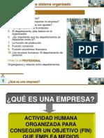 1.1. Empresa Como Sistema, Funciones y Clasificac-1