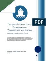 Desempeño Operativo y Financiero Del Transporte Multimodal (Semi Final)