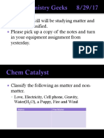 classification of matter 2017-2018 ppt