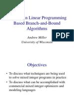 #9 Integer Programming