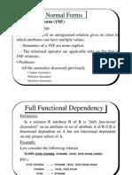 Normalization Theory 3