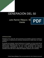 Generación Del 50
