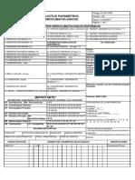 Formato de Solicitud de Parámetros Hidrometeorológicos