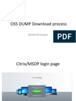 OSS DUMP Download Process