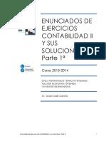 Enunciados Conta 2. Parte 1. 2013-2014 Con Solución