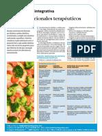 Planes Nutricionales Terapeuticos