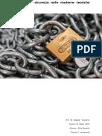 Analisi della sicurezza nelle moderne tecniche crittografiche