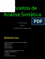 Compiladores | Analise sintática parte 1