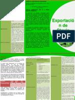 Exportación de Stevia pulverizada