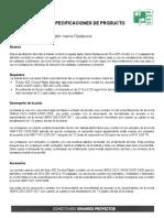Especificacion de Producto Conduit v Octubre 2015