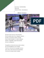 Laboratório de Produção de Textos – Cabra-cega (Comentado)