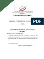 Informe Final Proyecto Extensión Cultural