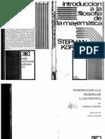 Körner.Introducción a la filosofía de las matemáticas.pdf