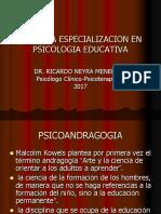 Segunda Especializacion en Psicologia Educativa
