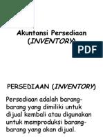 Akuntansi Persediaan Inventory