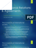 Lesson 1.2- Evolution of International Society