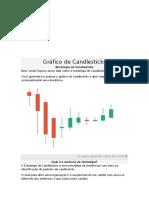 Gráfico de Candlesticks-Opções Binárias