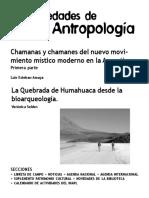 Novedades de Antropologia 61