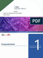 Mecanismos de abstracción en Java, Parte 1