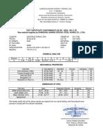 Certif Perno 7l8-9 X 2.1l2