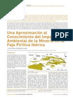Una Aproximacion Al Conocimiento Del Impacto Ambiental de La Mineria en La Faja Pritica Iberica